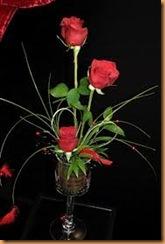 St-Valentin,3 roses