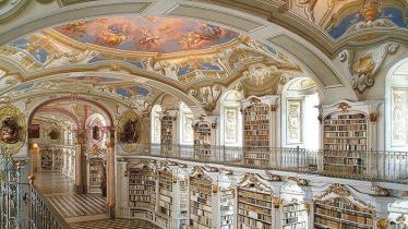 Biblothèque de l'Abbaye d'Admont Autriche monatique
