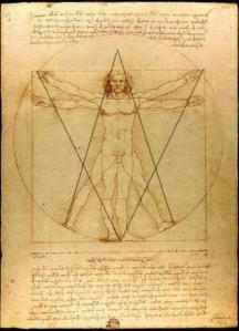 Vitruve de Léonardo Da Vinci